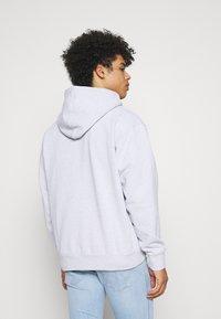 Obey Clothing - BOLD IDEALS SUSTAINABLE HOOD - Sweatshirt - ash grey - 2