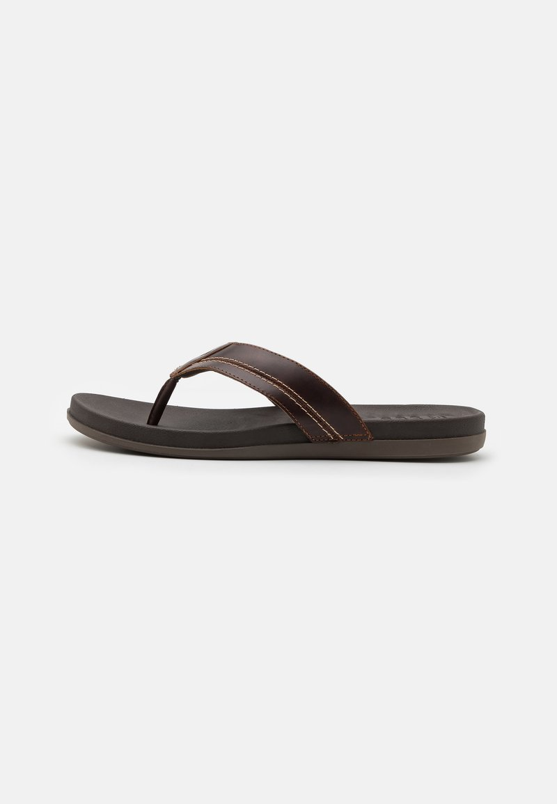 Sperry - PLUSHWAVE THONG - Japonki - brown