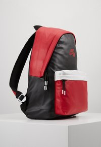 Jordan - AJ PACK - Rucksack - black/gym red - 2