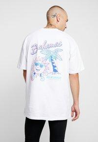 Topman - BAHAMAS TEE - T-shirt med print - white - 2