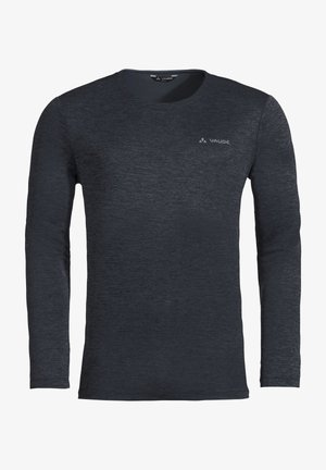 ESSENTIAL LS T-SHIRT - Long sleeved top - phantom black