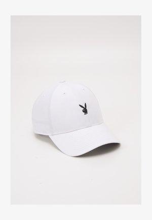 PLAYBOY LINED UNISEX - Cap - white