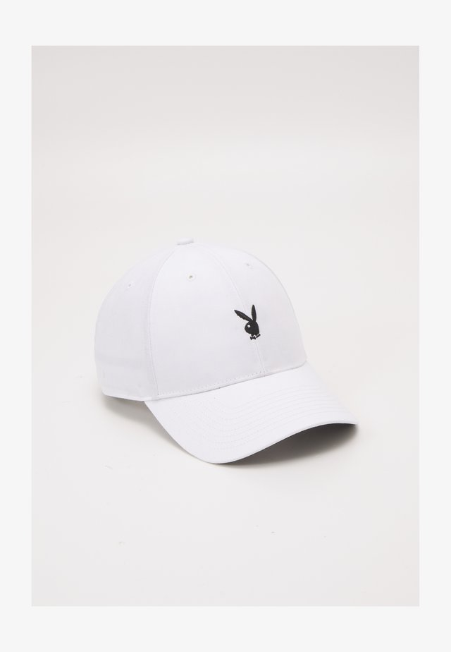 PLAYBOY LINED UNISEX - Cap - white
