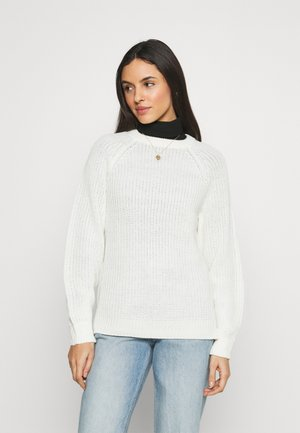 VMNEWLEA O-NECK - Jumper - birch