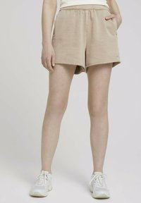TOM TAILOR DENIM - Shorts - dune beige - 0
