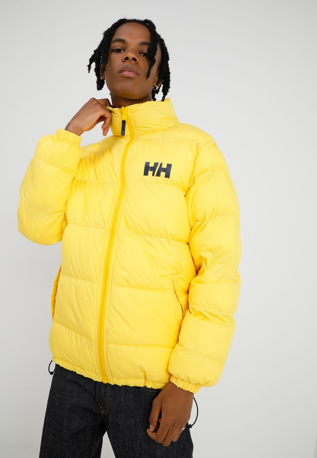 URBAN REVERSIBLE - Veste d'hiver - young yellow
