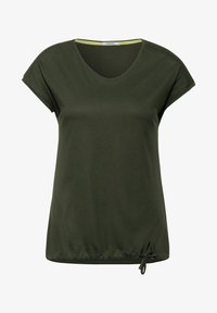 Cecil - MIT SMOK - Print T-shirt - grün - 3