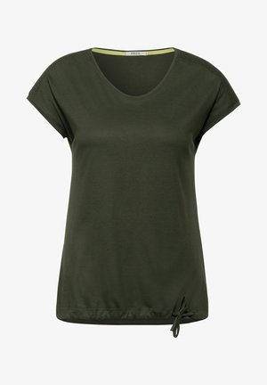 MIT SMOK - Print T-shirt - grün