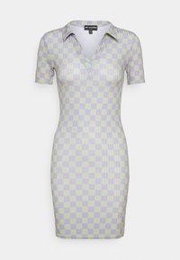 NEW girl ORDER - CHECKERBOARD DRESS - Jersey dress - multi - 0