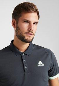 adidas Performance - Sports shirt - carbon/glow green - 3