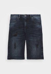 Cars Jeans - BECKER - Denim shorts - blue black - 4