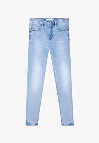 Stradivarius - Jeans Skinny - light blue - 4