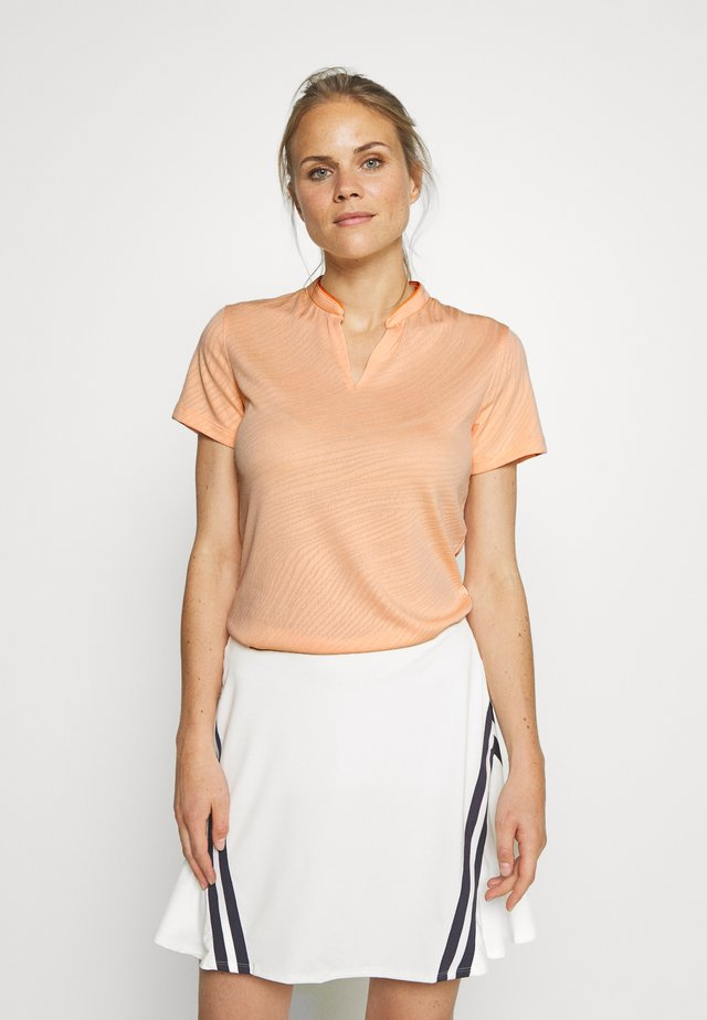 BREATH FAREWAY - T-shirt con stampa - sunset haze/orange trance