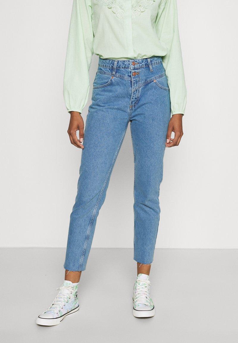 Trendyol - MAVI - Jeans straight leg - blue