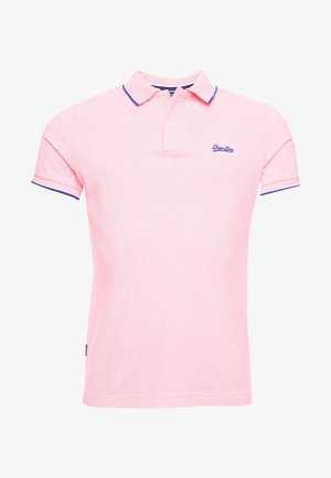 Poloshirt - bright blast pink grit