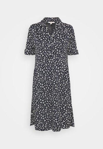 IT A LINE DRESS - Shirt dress - navy
