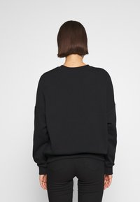Even&Odd - Printed Oversized Sweatshirt - Collegepaita - black - 2