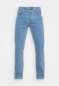 90'S STRAIGHT LOGO WAISTBAND - Straight leg jeans - denim medium