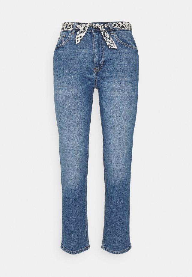 STRAIGHT VINTAGE  - Jeans a sigaretta - medium blue