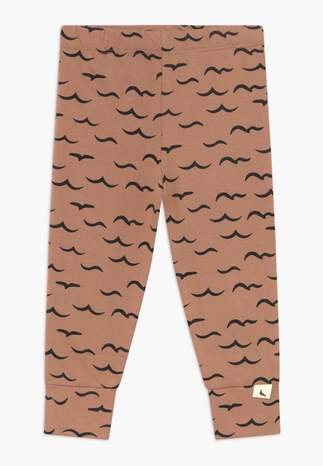 AIR AND SEA BABY  - Leggings - brown