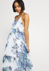 Vila - VIVIOLA STRAP DRESS - Day dress - cloud dancer/blue - 3