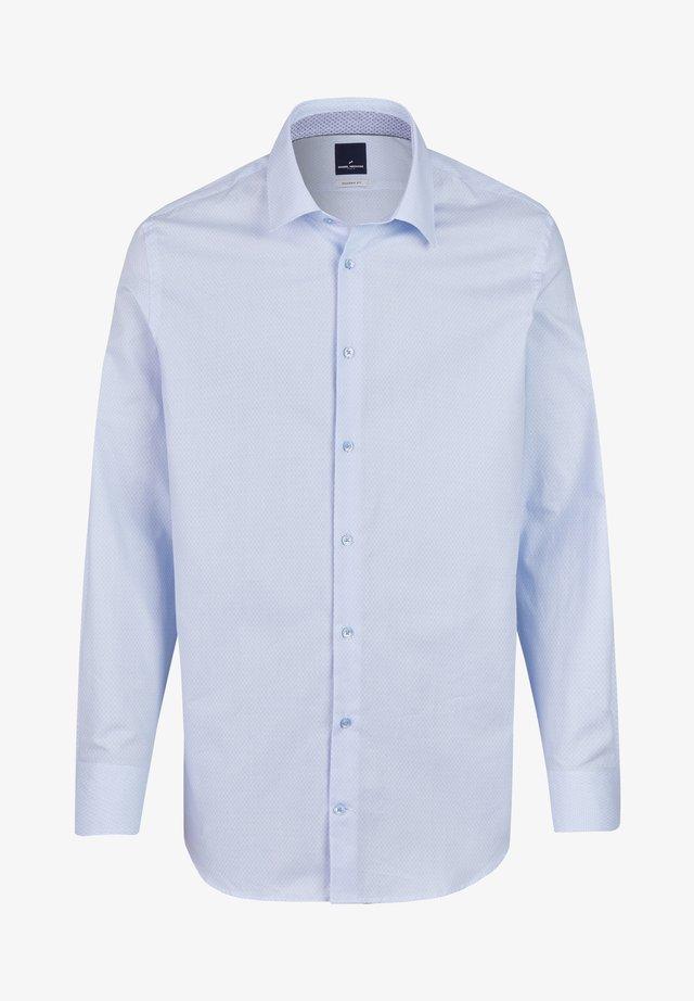 MIT GRAFISCHEM MUSTER - Shirt - light blue