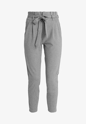 VMEVA LOOSE PAPERBAG PANT - Kangashousut - medium grey
