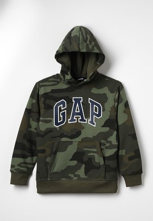 ACTIVE KNITS CAMO ARCH  - Jersey con capucha - camouflage