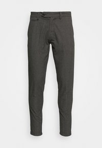 Lindbergh - CHECKED CLUB PANTS - Tygbyxor - grey - 4