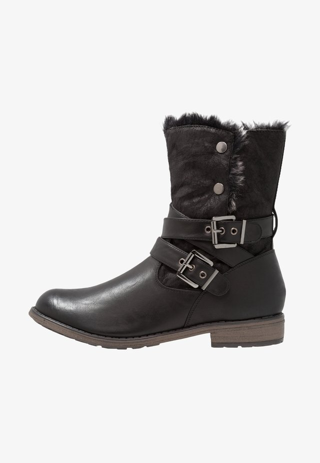 NICOLE - Vinterstøvler - black