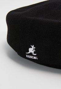 Kangol - BAMBOO JAX BERET - Czapka - black - 6