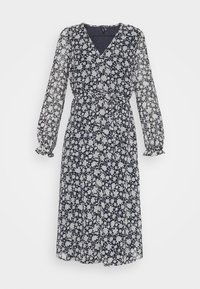 Vero Moda - CALF DRESS - Robe chemise - navy blazer - 4