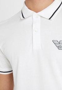 Emporio Armani - Koszulka polo - white - 5