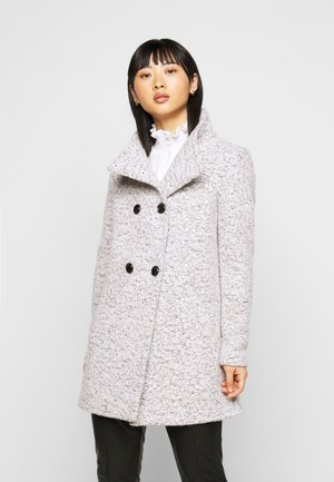 ONLNEWSOPHIA COAT - Korte frakker - cloud dancer/melange