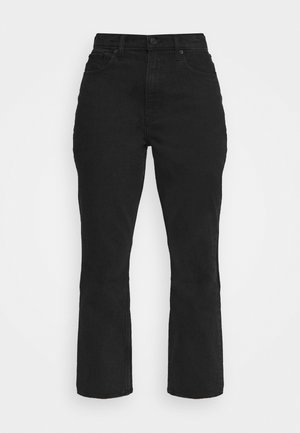 CURVE LOVE KICK FLARE - Flared Jeans - black