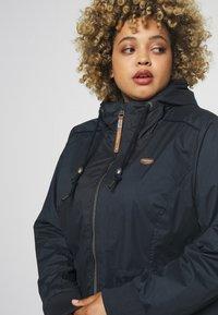 Ragwear Plus - DANKA - Summer jacket - navy - 3