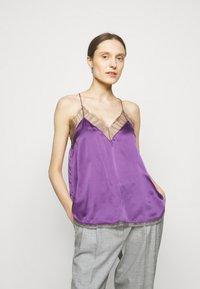 Iro - BERWYN - Linne - purple/grey - 0