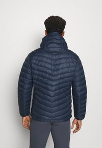 Peak Performance - FROST HOOD JACKET - Down jacket - blue shadow - 2