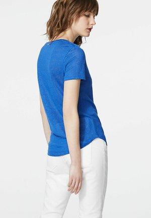 Print T-shirt - bleu fonce