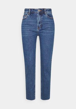ONLEMILY LIFE - Straight leg jeans - dark blue denim