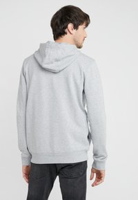 HUGO - DAPLE - veste en sweat zippée - open grey
