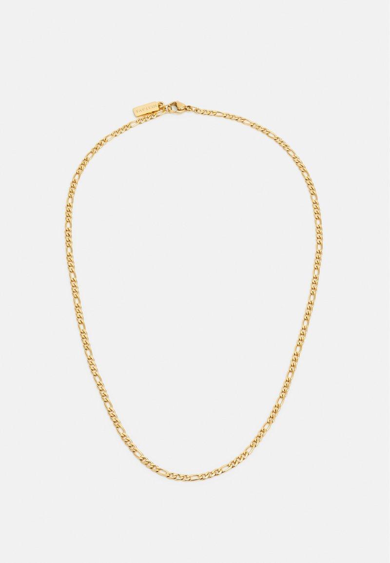 Nialaya - FIGARO CHAIN NECKLACE - Naszyjnik - gold-coloured
