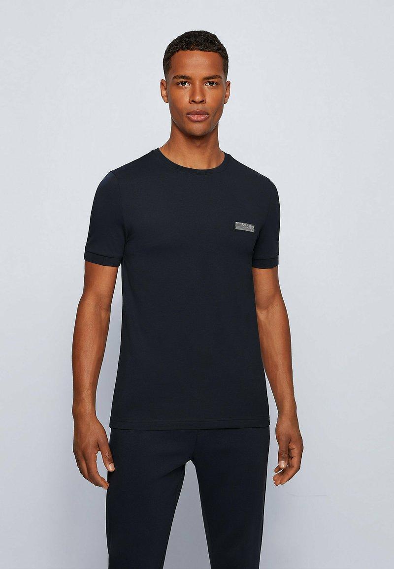 BOSS - T-shirts basic - dark blue