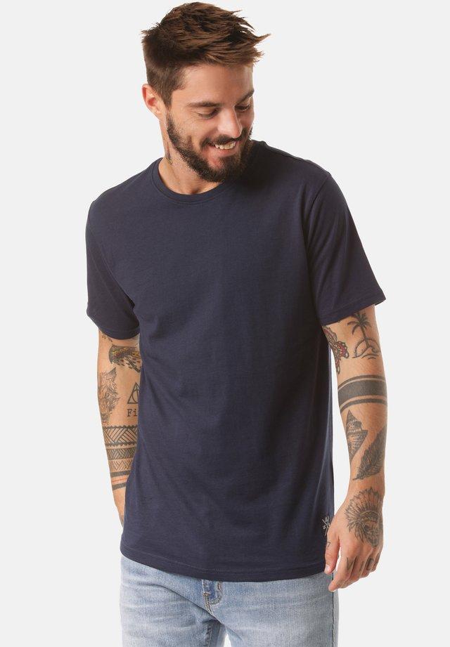 NIARI - Basic T-shirt - blue