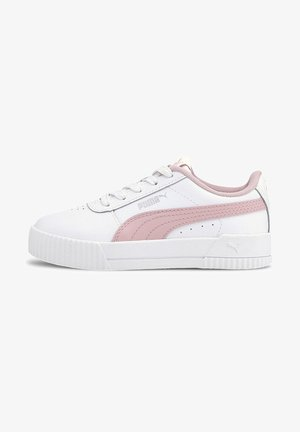 Sneaker low - puma white-peachskin