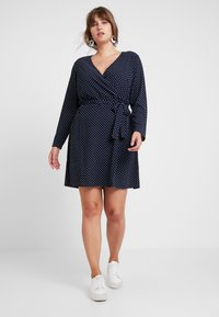 JUNAROSE - by VERO MODA - JRALIKA - Day dress - navy blazer - 1