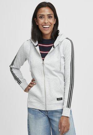 GABBY - Zip-up hoodie - light grey melange