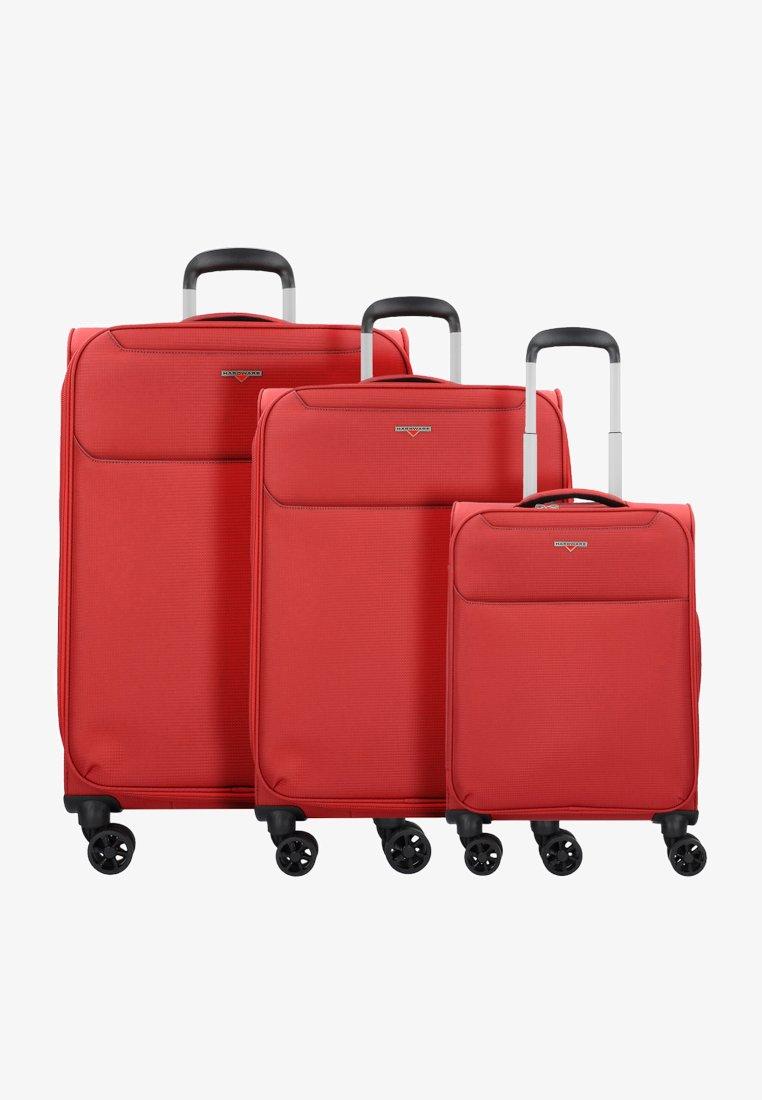 Hardware - XLIGHT - Luggage set - wine red