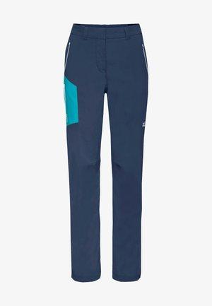 OVERLAND - Outdoor trousers - dark indigo blue