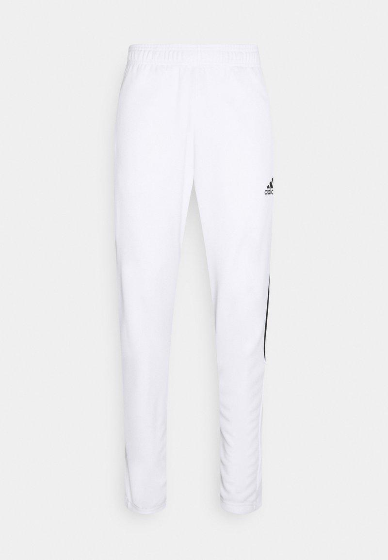adidas Performance - TIRO  - Træningsbukser - white/black